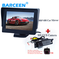 "HD car reversing camera adapt for OPEL Astra H/Corsa D/Meriva A/Vectra C/Zafira B,FIAT Grande+4.3""  car monitor"