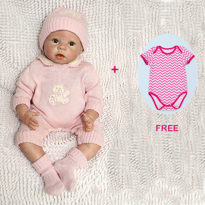reborn baby doll and free doll clothes