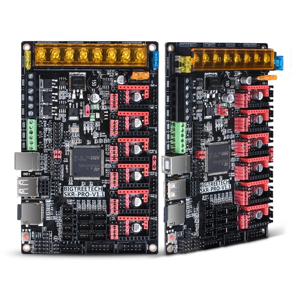 BIGTREETECH SKR PRO V1.1 Control Board 32Bit+TMC2209 TMC2208 TMC2130+TFT35 V2.0 3D Printer Parts SKR V1.3 For Ender 3/5 MKS GEN