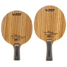 BOER 7 Ply Arylate Carbon Fiber Table Tennis Blade Lightweight Ping Pong Racket Blade Table Tennis Accessories high quantity dhs di gt 9 ply pure wood ebony racket table tennis blade ping pong bat tenis de mesa