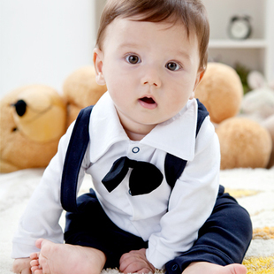 Spring Baby Boy Clothes Wine Handsome Childrens Birthday Clothing In