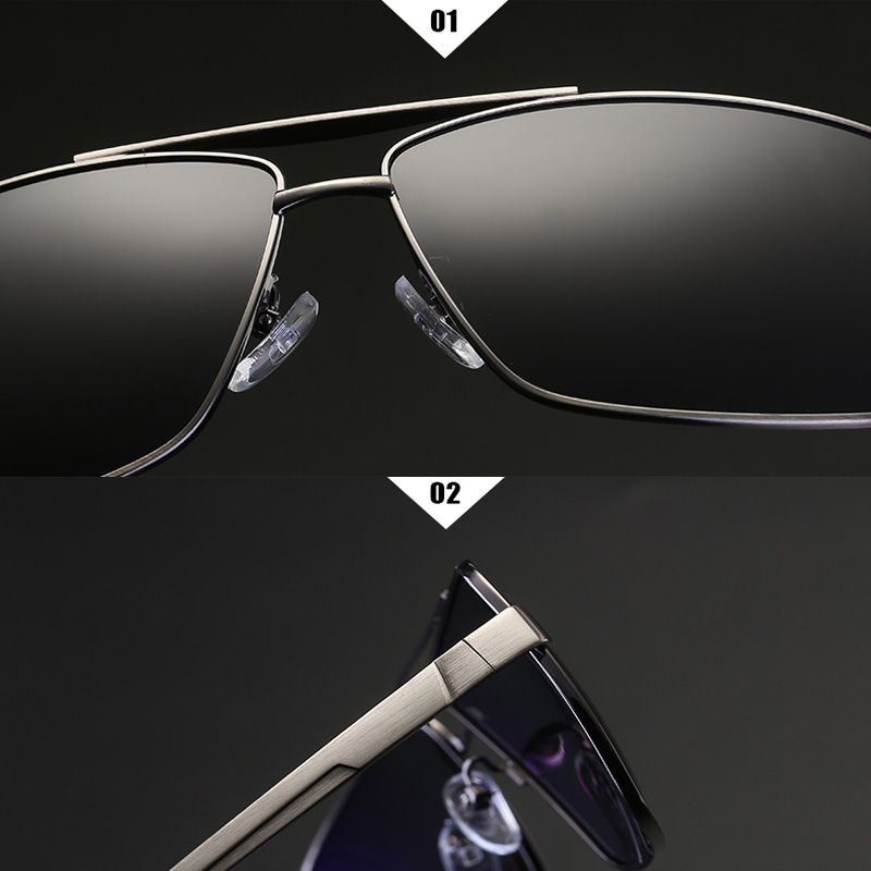 2019 High Quality Men Polarized Sunglasses Luxury Brand Design Driving Goggles Male Vintage Retro Metal Alloy Sun Glasses UV400 in Men 39 s Sunglasses from Apparel Accessories