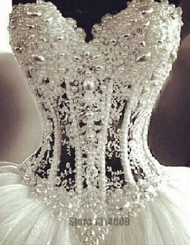 how to add bling to a wedding dress