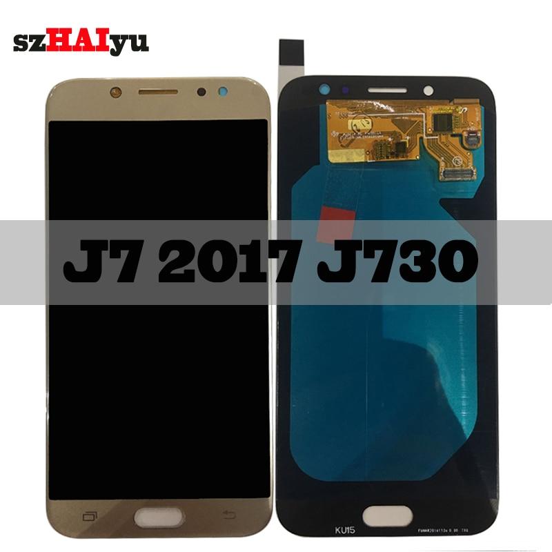 SZHAIYU Touch Screen Digitizer For Samsung Galaxy J730 J7 Pro 2017 J730F J730FM J730G LCD Display 1280x720 5.5 AMOLED LCDSZHAIYU Touch Screen Digitizer For Samsung Galaxy J730 J7 Pro 2017 J730F J730FM J730G LCD Display 1280x720 5.5 AMOLED LCD