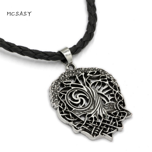 MCSAYS Norse Viking Jewelry Special Design Odin Tree Of Life Pendant