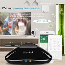 Broadlink RM Pro+ 2019 New WiFi IR RF Smart Home Hub, Alexa Echo Google Home Mini IFTTT Voice Control WiFi Universal Remote