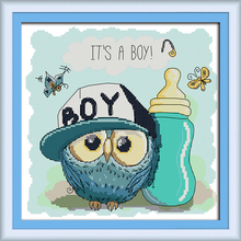 Free Cross Stitch Patterns Owls Promotion-Shop for