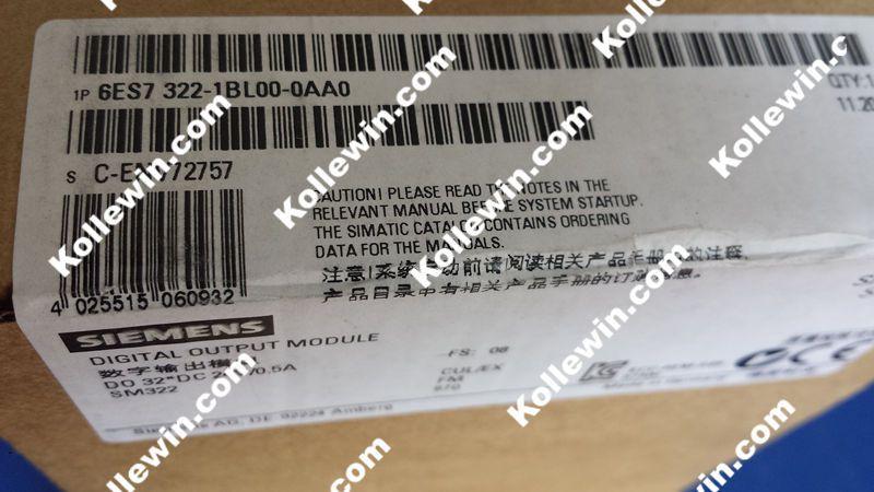 NEW Original 6ES7322-1BL00-0AA0 Digital Output Module, SIMATIC S7-300 6ES7 322-1BL00-0AA0,  32DO, 24V DC, 0.5A 6ES73221BL000AA0 new original 6es7322 1hh01 0aa0 digital output module relay contacts 1 x 20 pin 6es7 322 1hh01 0aa0 simatic 6es73221hh010aa0