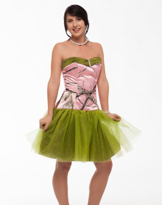 Pink Camo Prom Dress Promotion-Shop for Promotional Pink Camo Prom ...