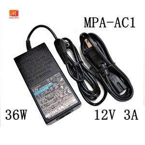 Image 2 - AC מתאם 36W 12V 3A עבור Sony MPA AC1 מצלמה DVD זאבי ישיר VRD זאבי BRC SRG סדרת מטען אספקת חשמל