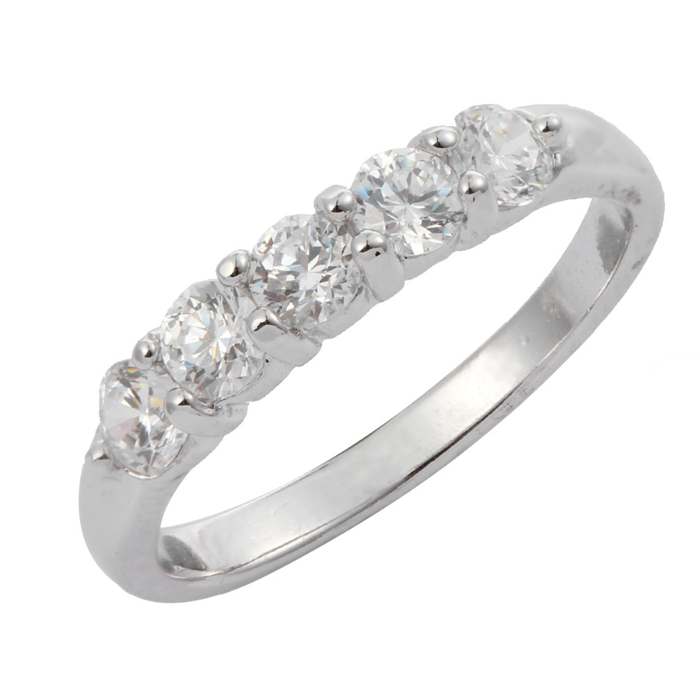 aliexpresscom buy wedding bands for women engagement rings single row inlay clear cubic zircon small size 425 675 female girls jewelry bijoux from - Small Wedding Rings