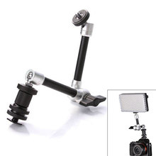 11 Adjustable Friction Articulating Magic Arm Photography Accessories Mount Kit DSLR for Monitor LEDLight