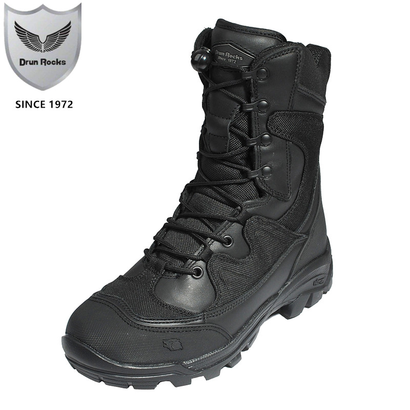 Autumn Winter Men s Military Boots Chinese Tactical Footwear Ankle Snow Boots High Quality Man Safety