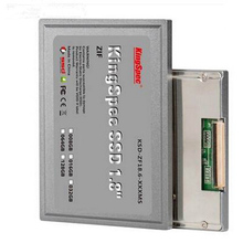 KSD-ZF18.6-128MS Brand Kingspec 1.8 inch ZIF IDE SSD 128GB solid state Hard Disk for Laptop  Desktop PC Computer hd drive 44pin