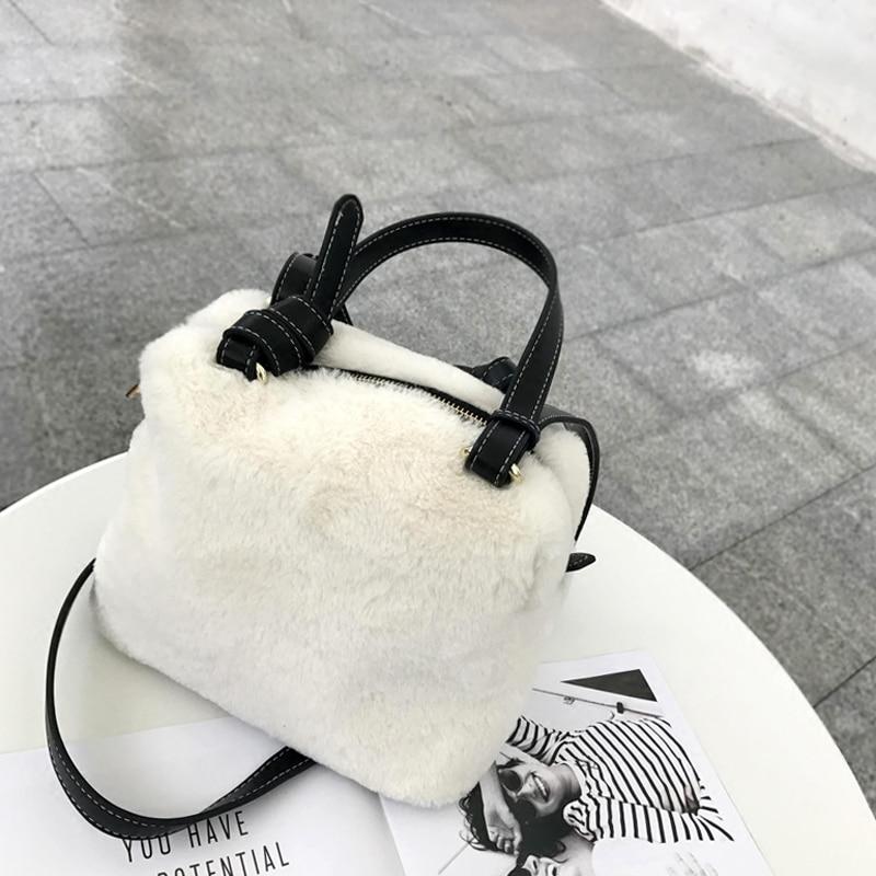 new 2017 winter faux fur women tote handbag boston bag leather strap shoulder bag ladies purse warm plush clutches blosa gcr15 6326 zz or 6326 2rs 130x280x58mm high precision deep groove ball bearings abec 1 p0