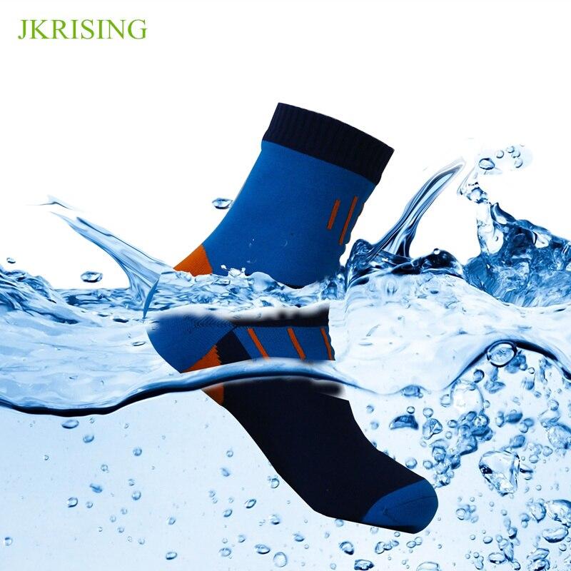 Waterproof Socks Outdoor Hiking Run Socks Men Anti slip Climing Breathable Fishing Skii Socks in Hiking Socks from Sports Entertainment
