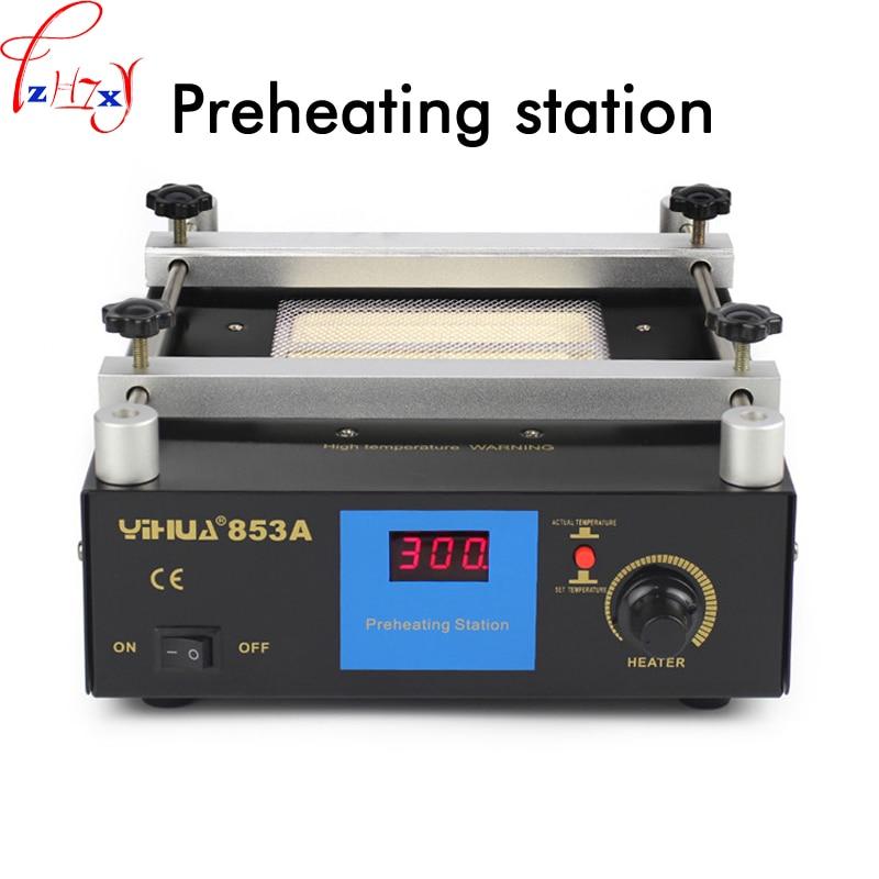 853A constant temperature lead - free preheating station 600W BGA rework station digital display heating platform upgrade 853a bga constant temperature lead free preheating stations