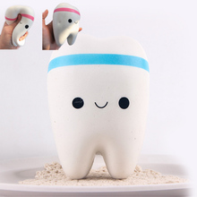 1pcs Squishy Toys Squishies Cellphone Straps Teeth Buns Bread Wholesale Cheap Kawaii  Squishy Jumbo in stock