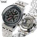 Роскошные Мужские автоматические механические часы из нержавеющей стали группа механические часы для подростков механические часы для де...