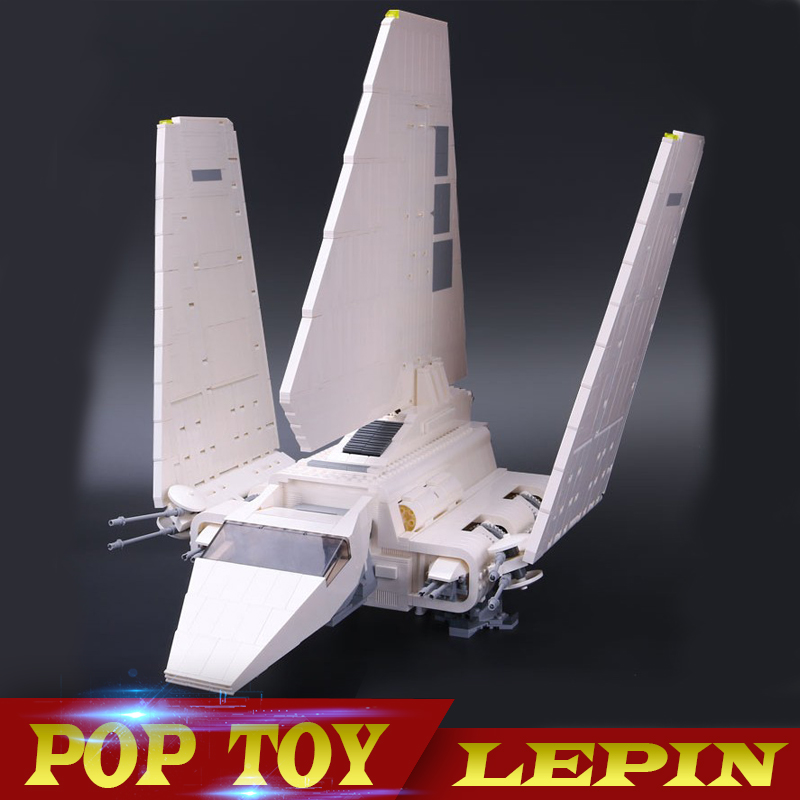 LEPIN 05034 New 2503Pcs Star Series Wars The Gifts Shuttle Building Blocks Bricks Assembled Toys Compatible with 10212 new 1685pcs lepin 05036 1685pcs star series tie building fighter educational blocks bricks toys compatible with 75095 wars