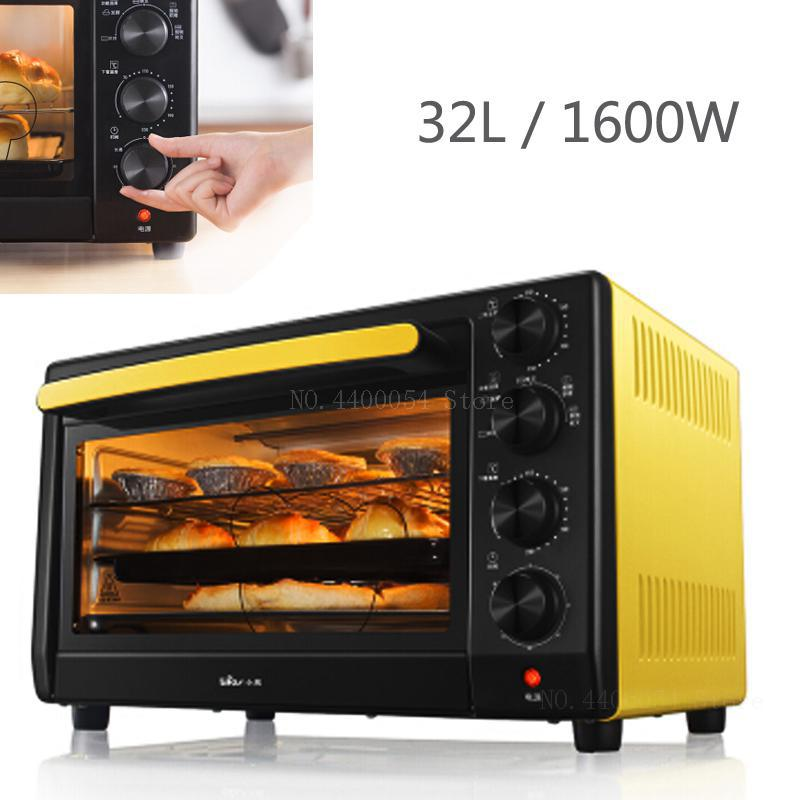 Cake Temperature In Microwave Oven: Electric Pizza Cake Baking Oven 32L 1600W Independent