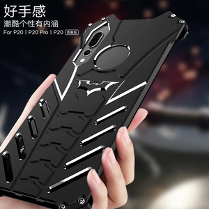 Image 2 - Luxury Cool Design Batman Case for Huawei P20 Pro Premium Aluminum Metal Bumper Frame Shockproof Cover Shell For Huawei P20 Lite