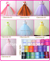 baby Chevron tutu dress girls summer long tutu wedding dresses evening party tutu gown for children 2pcs/set free shipping