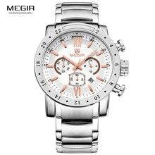 Large นาฬิกา Mens แฟชั่นนาฬิกาควอตซ์ชายกันน้ำนาฬิกาข้อมือ