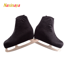 24 Colors Child Adult Velvet Ice Skating Figure Skating Shoes Cover Blade Cover Solid Rollar Skate Shoes Accessories Athletic