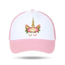 FancyQube Children Summer Unicorn Snapbacks Hat For Girls Baseball Women Sun  Caps 2cfe91c4b664