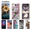 CaseRiver Huawei Honor 4C Pro Case Cover Soft Silicone Honor 4C Pro Case Cover Shell Huawei Y6 Pro Case TIT-L01 TIT-TL00 Phone