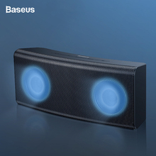 Baseus Portable Bluetooth Speaker 5.0 Outdoor Wireless Speakers 3D Stereo Sound System Music Surround Loudspeaker Support TF AUX