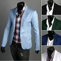 2016 New Men's Slim leisure  cotton  suits small suit  Spring and Autumn new men's no good   men cultivating  leisure suits