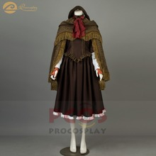 Game Bloodborne Hunter Doll Selfie Cosplay Costume mp003733