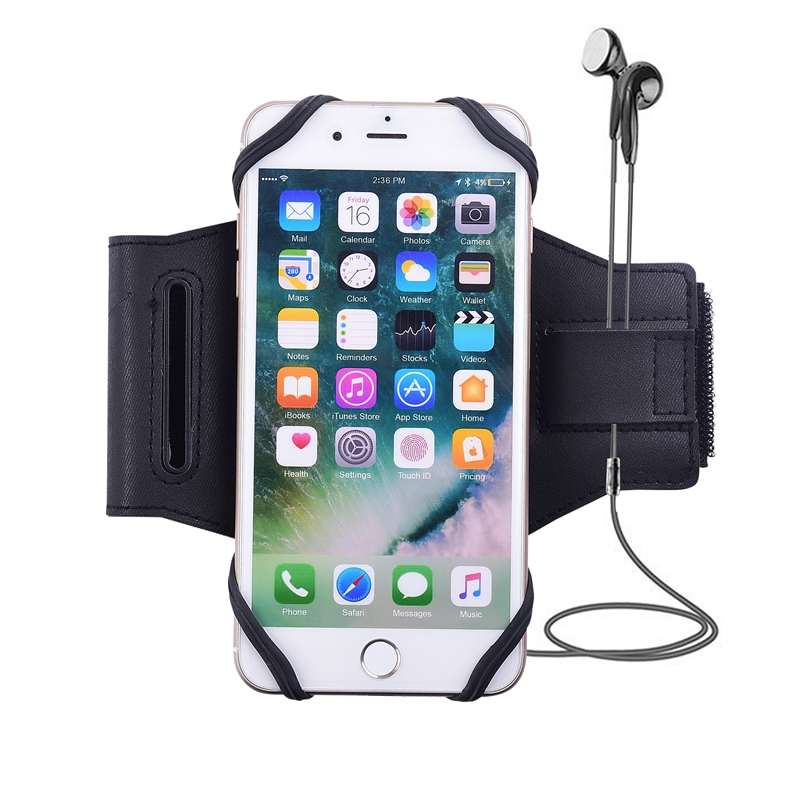 Armbands Universal Magnetic Mobile Phone Holder Armband Sport Running Arm Band For Iphone X 5 6 7 8 Plus For Samsung S7 S8 S9 For Xiaomi Mobile Phone Accessories