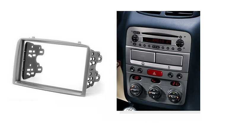 Aliexpress Com   Buy Double Din Facia For Alfa Romeo 147 Radio Dvd Stereo Cd Panel Dash Mounting