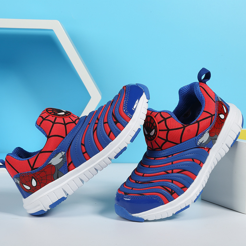 2018 Spring Autumn New Kids Shoes Baby Sneaker Cartoon Breathable Casual Boys Girls Shoes uovo autumn new boys shoes girls shoes children s casual sport shoes breathable comfort sneaker for kids high quality shoes