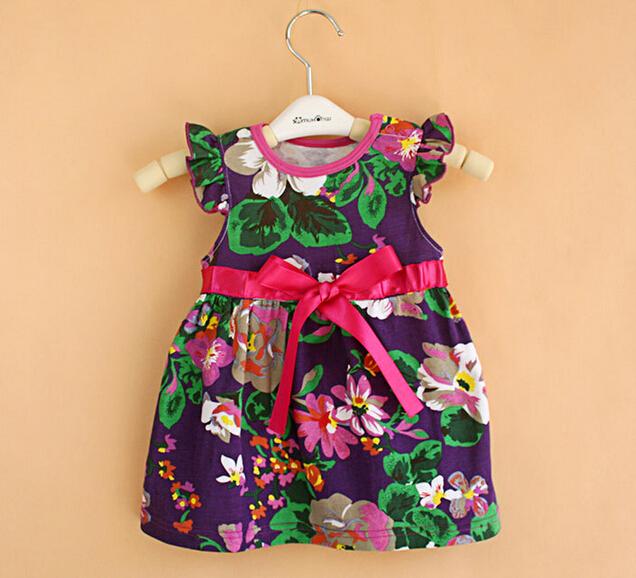 Meninas do bebê vestir, 2016 Novo estilo, roupas de bebê, roupas de verão, recém nascido, bebê vestido de princesa menina, vestidos infantis, 12-24 M roupa dos miúdos