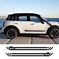 Наклейки для спортивных автомобилей длинные боковые полосы авто виниловые DIY наклейки для Mini Cooper R56 R57 R58 R50 R52 R53 R59 R61 R60 F60 F55 F56 F54