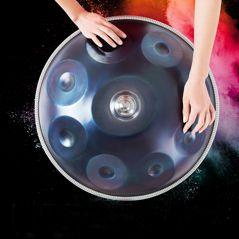 Handmade Handpan Instrumento Antique F major D Minor Hang Drum 9 Notes Music Hand pan Drums Percussion Musical Instruments 432hz