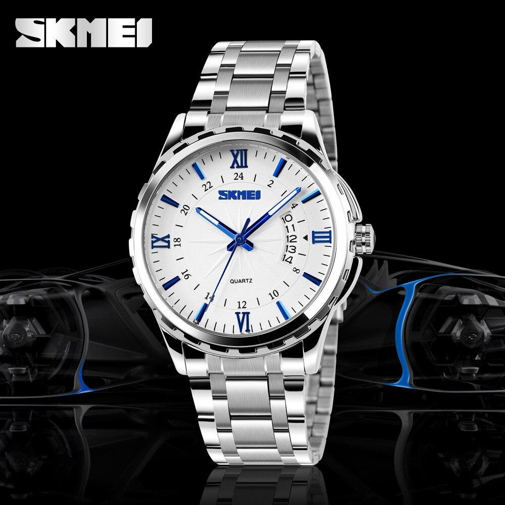 Skmei Luminous Strip 30M waterproof Date Quartz Quartz Watch