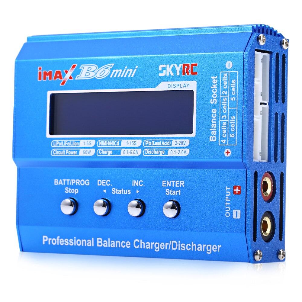 Véritable IMAX B6 Mini chargeur/déchargeur professionnel pour batterie RC charge pour batterie Li-Ion LiPo LiFe NiMH NiCd