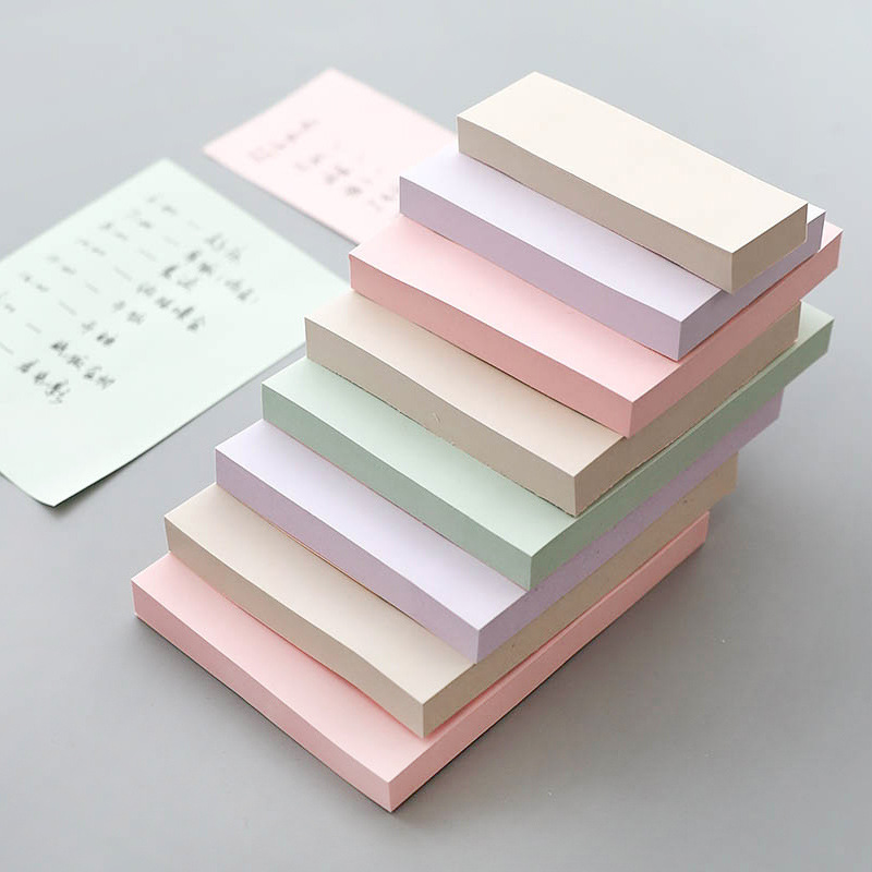 400 sheets/pack Multicolor Post it Memo Pad Self-Adhesive Sticky Notes Paper Bookmarks School Office Stationery Supplies 01991