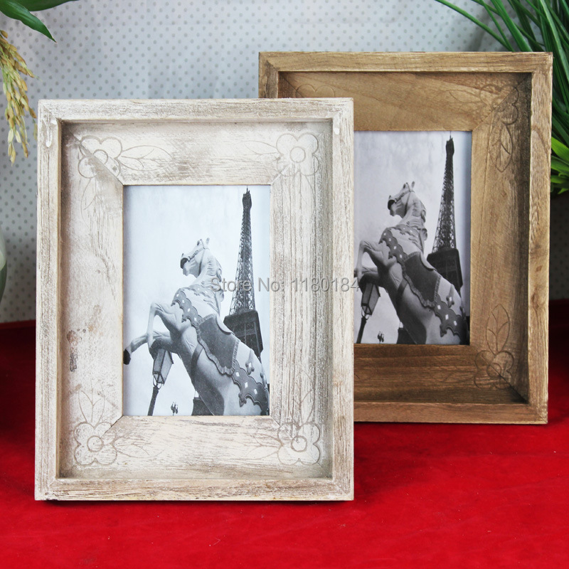 new arrival retro finishing fashion american vintage wool photo frame 4x6 inch 2pcslot free shipping