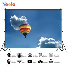 Yeele Hot Air Balloon Heart Cloud Sky Professional Portrait Photography Backdrops Photographic Backgrounds For The Photo Studio