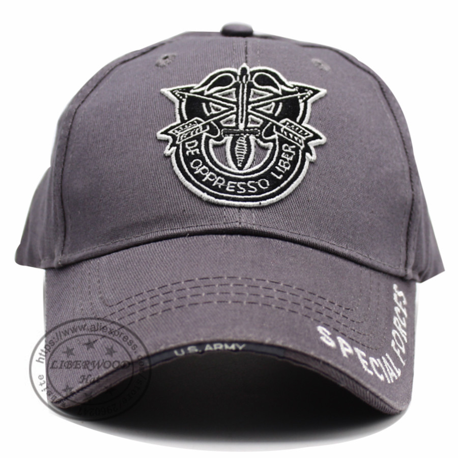 6618cd0aa1f LIBERWOOD United States US Field army special force cap hat embroidery Arrow