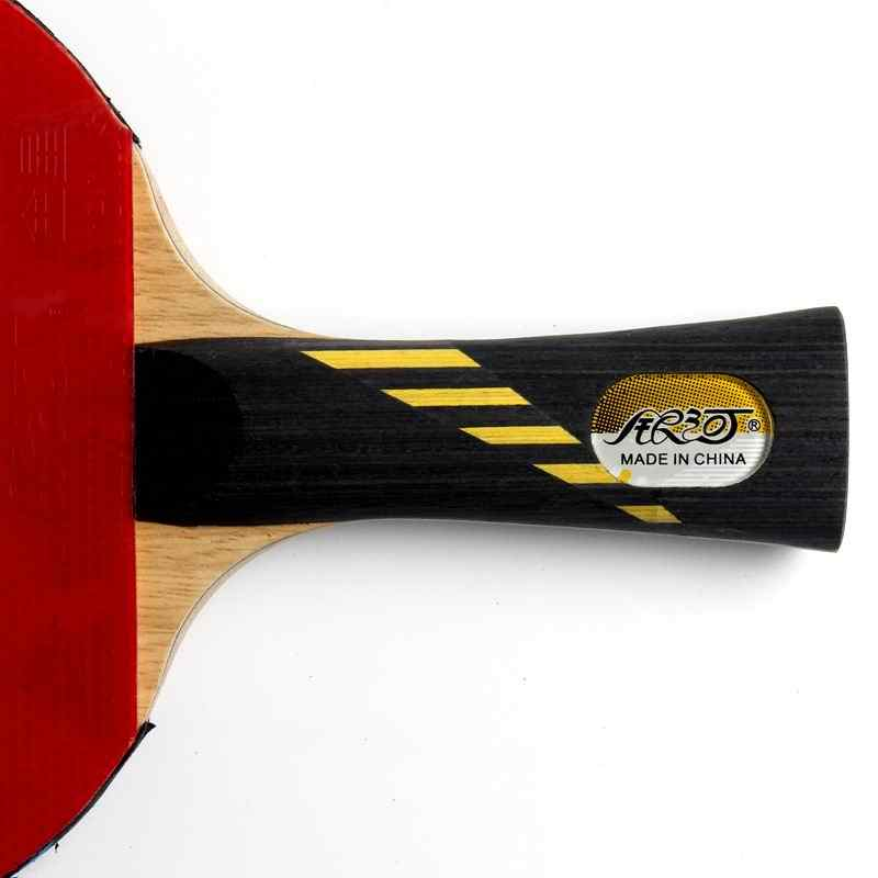 Original yinhe 09b 09d finished racket carbon racket good in elastic and speed fast attack with loop ping pong racket