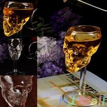Skeletal Bones Armor Warrior Skull Designed Glass Goblet Drinkware