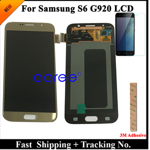 Image 3 - Grade AAA SUPER AMOLED For Samsung S6 LCD Display S6 G920F For Samsung S6 G920 Display LCD Screen Touch Digitizer Assembly