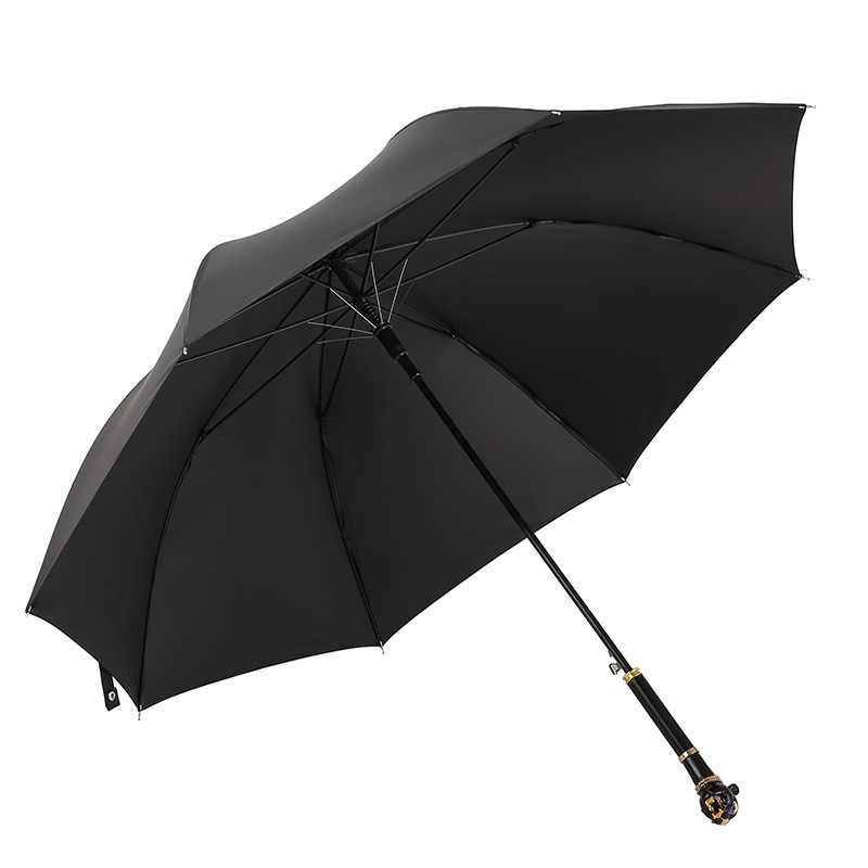 Parapluie créatif pluie femmes hommes Parapluie léopard tête de Lion paraguay parapluies élégants pour spectacle de mode Parasol